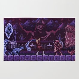 Simon's Vania Castle Quest Rug