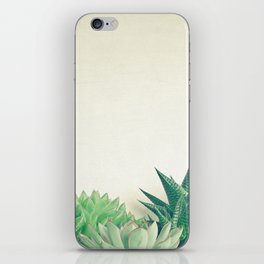 Succulent Forest iPhone Skin