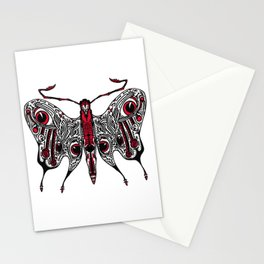 Bored Eye Moth of Utterly Dismal Conversationalists Stationery Cards