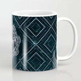 Pisces Zodiac Silver Embossed on the Star sky Coffee Mug