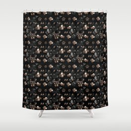 Floral series - Goldy Shower Curtain