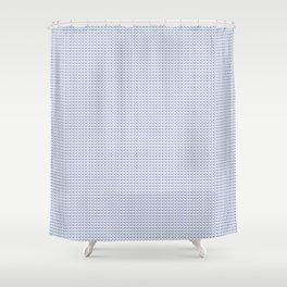Blue Heroin Shower Curtain