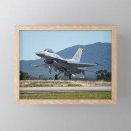 F-16 Fighting Falcon Framed Mini Art Print
