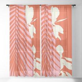 Palms Love Sheer Curtain