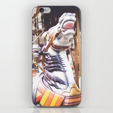 Wild horse race iPhone & iPod Skin
