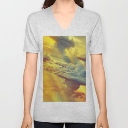 Flying in height Unisex V-Neck