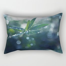 Shining in the Dark. Rectangular Pillow