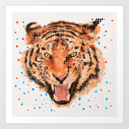TIGER I Art Print
