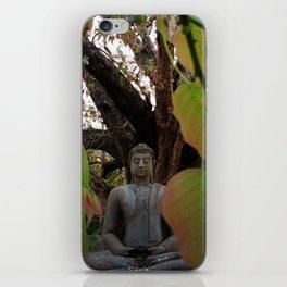 Buddha Statue at Abhayagiri Stupa iPhone Skin