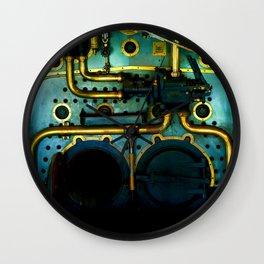 Industrial Victorian Wall Clock