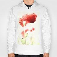 poppies Hoodies featuring Poppies by Falko Follert Art-FF77