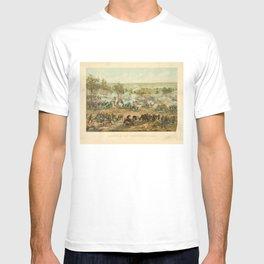 Civil War Battle of Gettysburg July 1-3 1863 by Paul Philippoteaux T-shirt