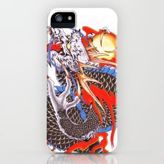 dragon color iPhone (5, 5s) Slim Case