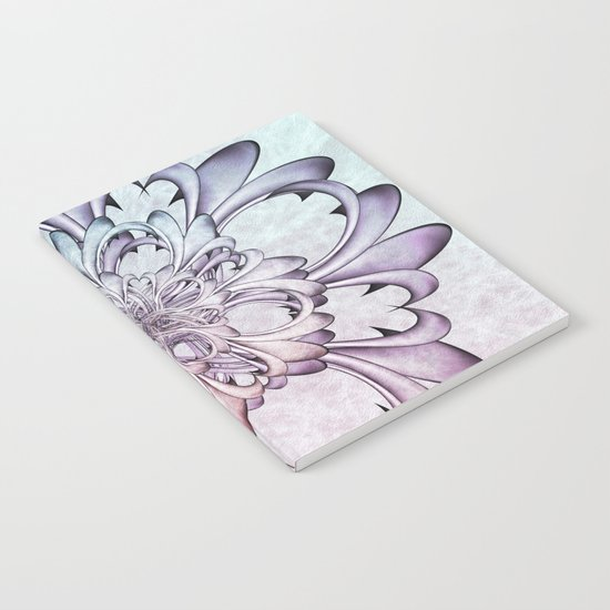 Floral abstract . Notebook