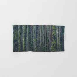 forest landscape photography tree background - trees vintage style Hand & Bath Towel