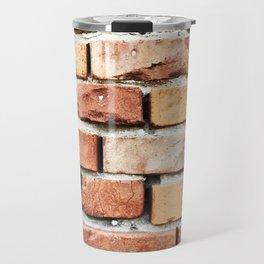 Brick Wall Background Travel Mug