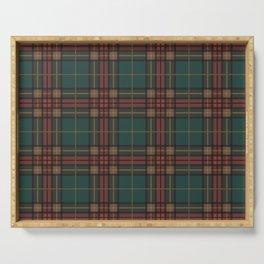 Tartan fabric, Scottish cloth Serving Tray