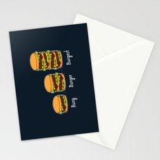 Burger explained 2. Burg. Burger. Burgest. Stationery Cards