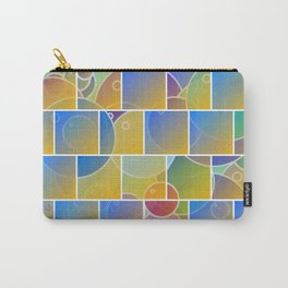 Colorful tiled puzzle Carry-All Pouch