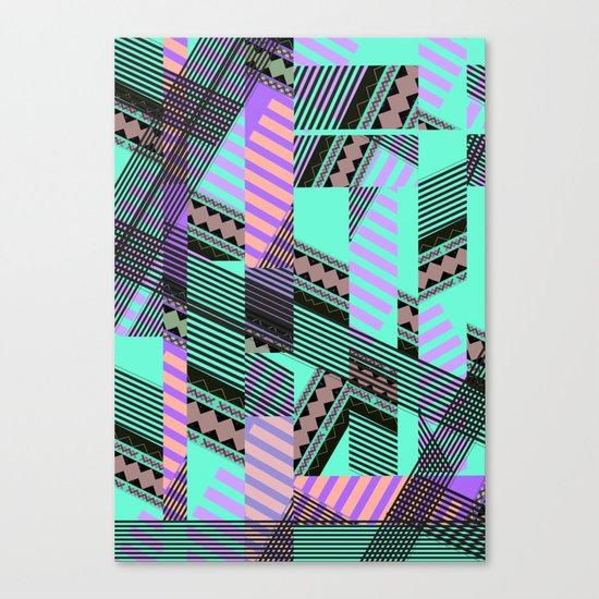 ELECTRIC TUNELS /// Canvas Print
