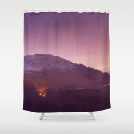 Cold Winters Night Shower Curtain