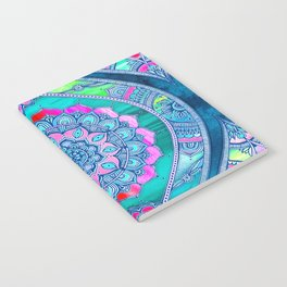 Radiant Boho Color Play Notebook