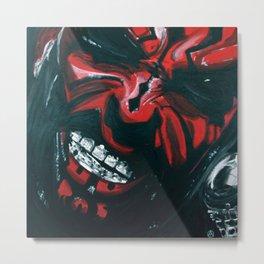 Darth Wall Metal Print