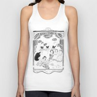 theatre Tank Tops featuring theatre by mariana, a miserável(the miserable one)
