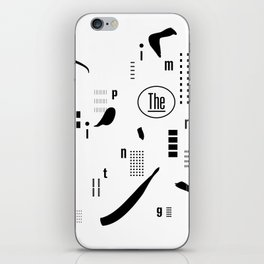 The Imprinting iPhone Skin
