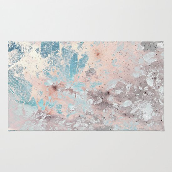 Pastel marble texture Rug by Lostfog Co↟   Society6