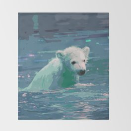 Polar Bear 2014-0904 Throw Blanket
