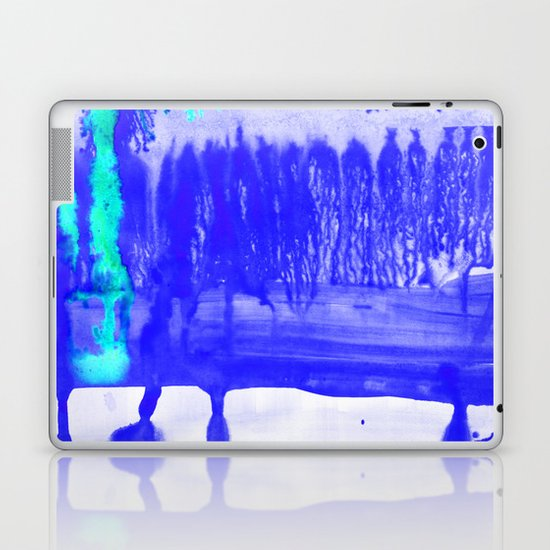 Dip Dye Ultramarine Laptop & iPad Skin