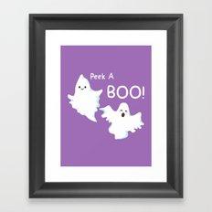 GhostBOOsters Framed Art Print