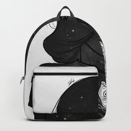 Feeling out. Backpack