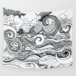 Returning to Wrightsville Beach Wall Tapestry