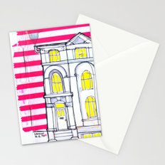 london house Stationery Cards