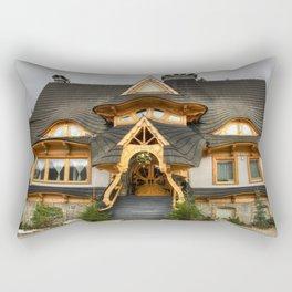 Polish Mountain House Rectangular Pillow