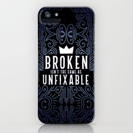 Lunar Chronicles Quote iPhone Case