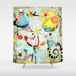 Growing wild, the seeds that you sew. Shower Curtain