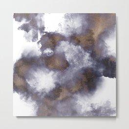Smoke and Sand Metal Print