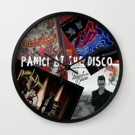 panic! fever Wall Clock