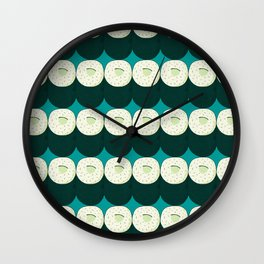 Cucumber Maki Wall Clock