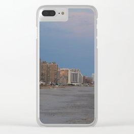 Atlantic City, NJ Clear iPhone Case