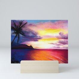Hanalei Sunset Mini Art Print