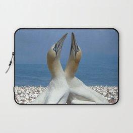 Northern Gannets in love Laptop Sleeve