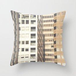 Downtown SF Throw Pillow