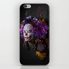 Violet Harvest Muertita iPhone & iPod Skin