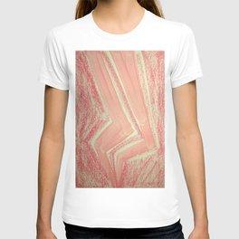 Pink Lightning Ghost Flash T-shirt