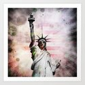 Statue of Liberty by politics