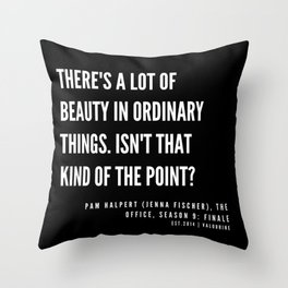 26   |  Office Quote Series  | 190611 Throw Pillow